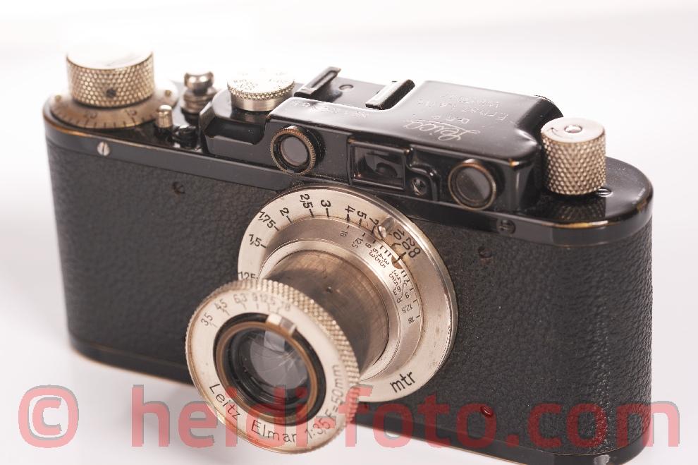 Leica DRP Standart 1933 in schwarz body #102185IF m.5cm 50/3.5 Leitz M ELMAR