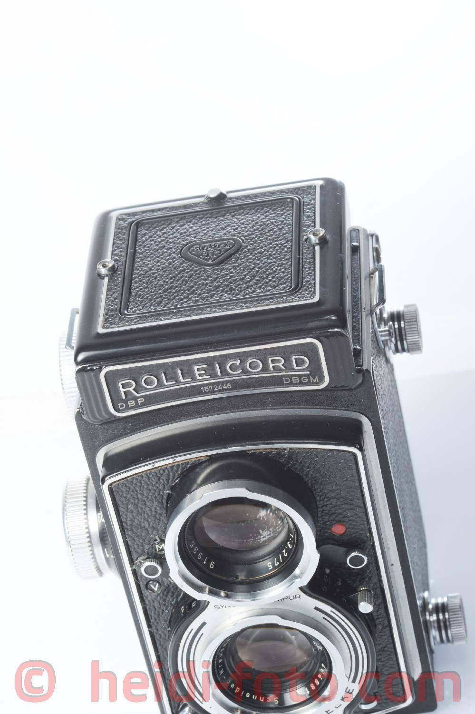 Rolleicord 3,5 75/3,3 Rollei TLR mit Schneider Kr.wie Rolleiflex