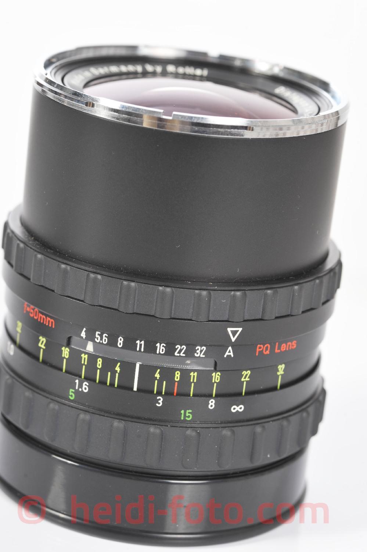 50/4,0 PQ HFT Serie - DISTAGON Rollei Rolleiflex SLX 6000-6008